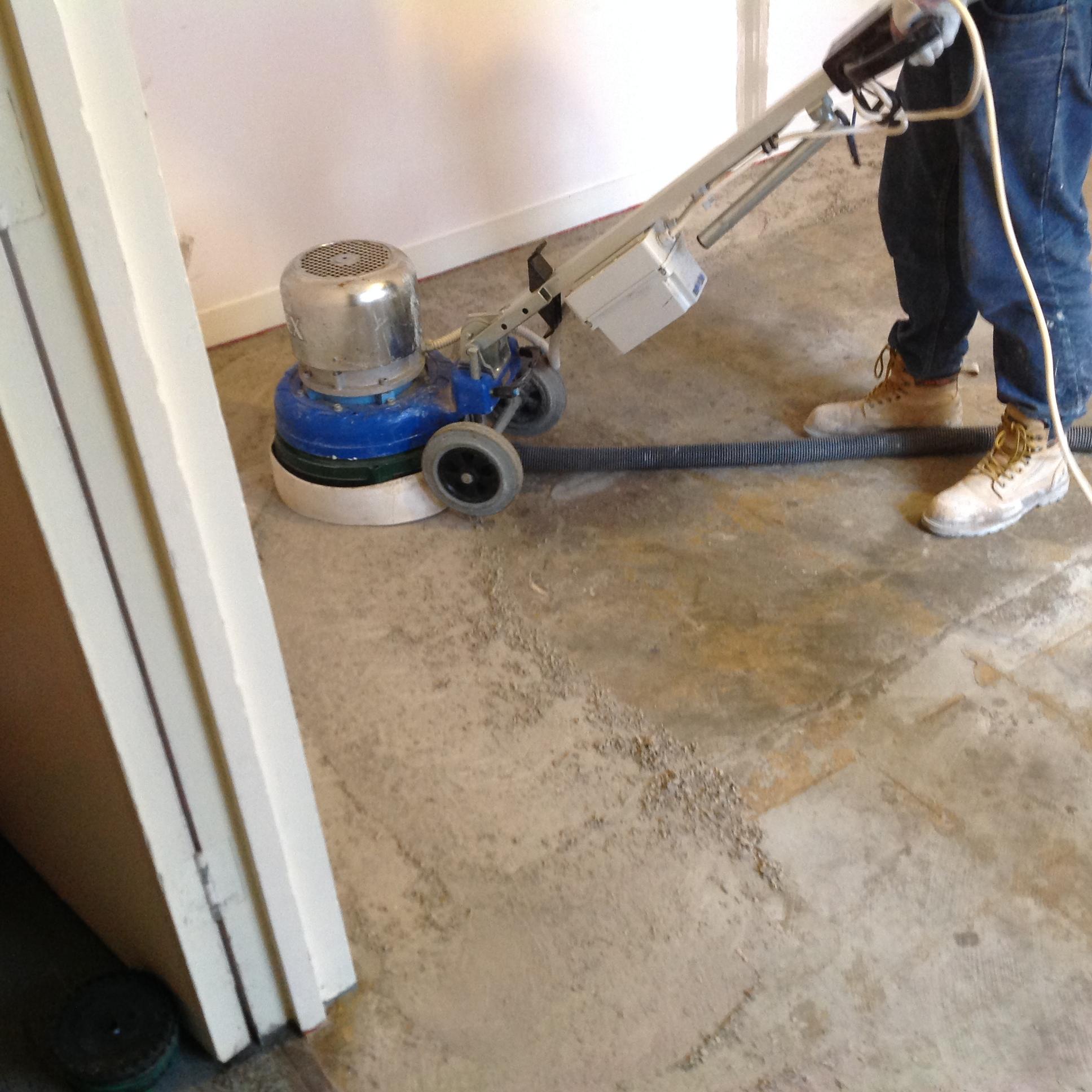 concrete polishing and grinding