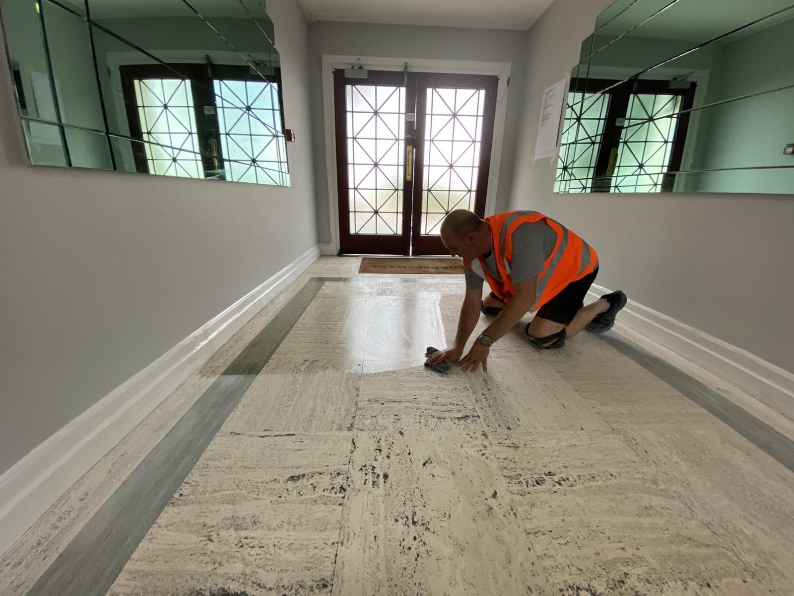 professional floor sealing